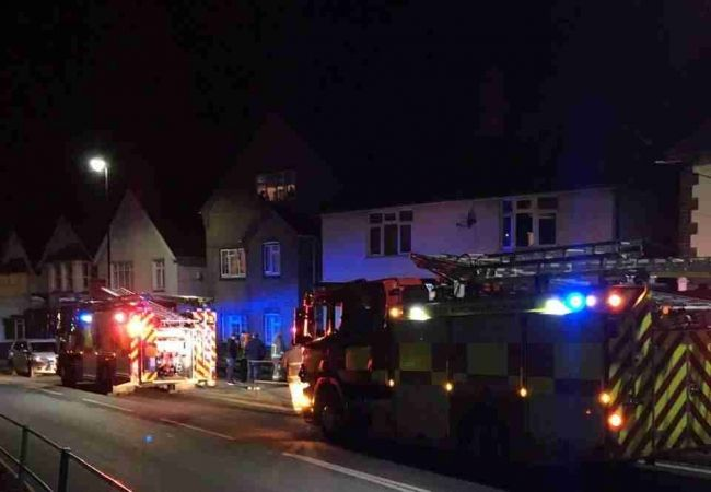 Fire Crews Called To Gas Tanker Breaks Over Heating In Brading