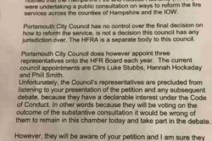 fire cuts debated at portsmouth city council meeting