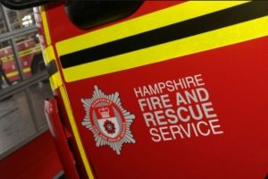 firefighters respond to cooker fire in hayling island