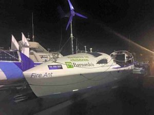 four female rowers rescued from atlantic ocean