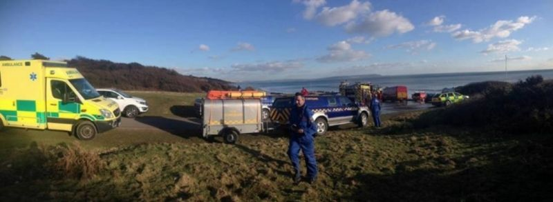 man rescued after getting stuck in the mud in christchurch