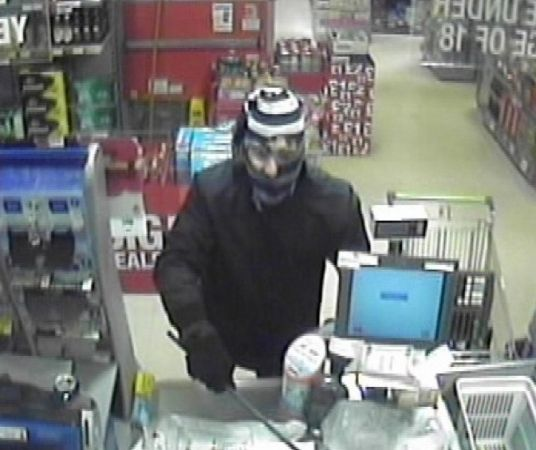 Police Issue Cctv  Of Wanted Shanklin Co-op Armed Robber