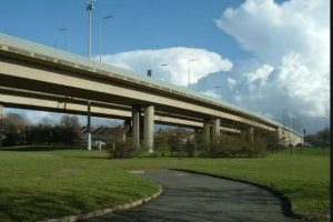 southampton redbridge flyover closed after collision