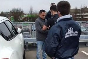suspected child groomer arrested by police at asda in fratton