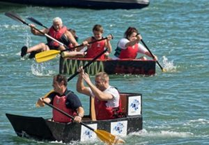 wightfibre cowes cardboard boat race is set to return for its third year and its free to enter