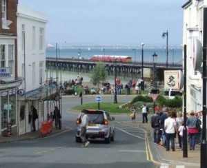 woman detained by police in ryde after falling into traffic