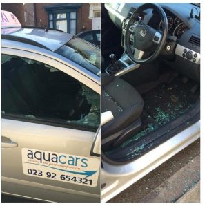 crafty crooks rob taxis in portsmouth