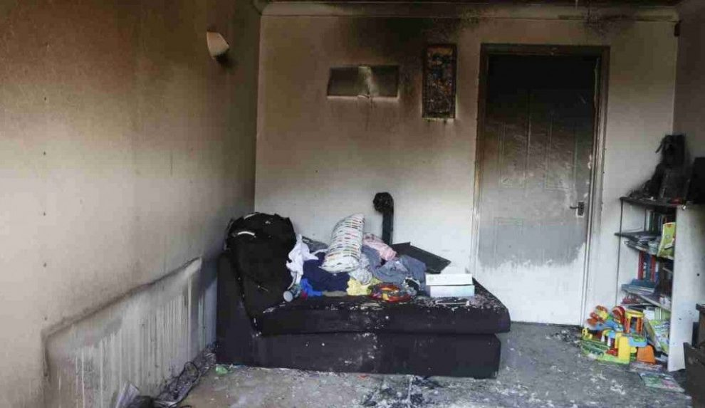 fire rips through locks heath property after t light candle left unattended