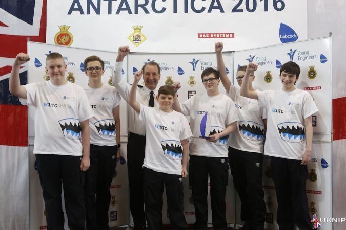 hms sultan plays host to young engineers challenge 2016