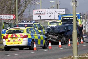 newgate closed after serious crash involing hgv