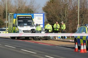police appeal for witness following fatal road collision in fareham