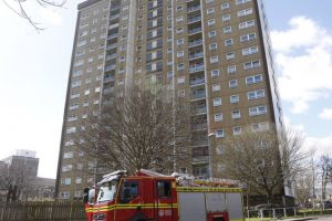 southsea fire crews called to fire in portsmouth tower