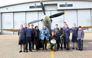spitfires flight historical reenactment 80 years on