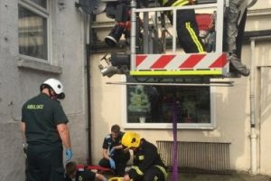 tower block rescue southampton training for hampshire fire and rescue