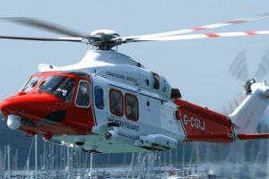 coastguard rescue helicopter called to the isle of wight