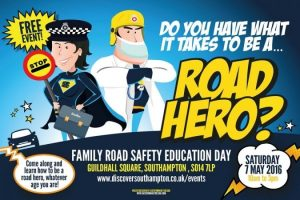 come and meet your local road hero at southamptons family road safety education day