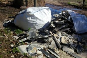 council calls for information about fly tipped asbestos
