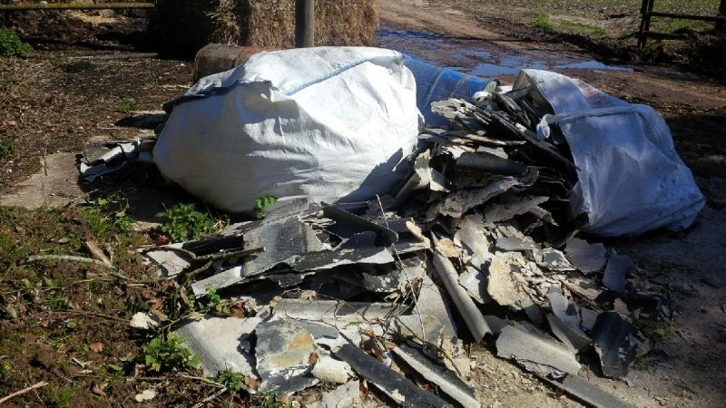 Council Calls For Information About Fly-tipped Asbestos