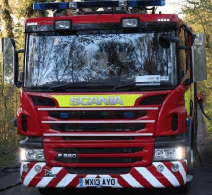 house blaze in ryde turned out to be a bonfire