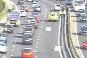 lanes closed on m27 motorway following crash near portsmouth
