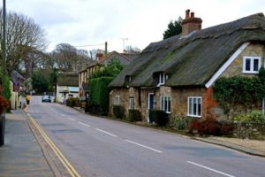 night time work to improve godshill village road