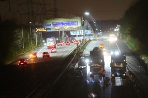 person hit on the m3 near eastleigh