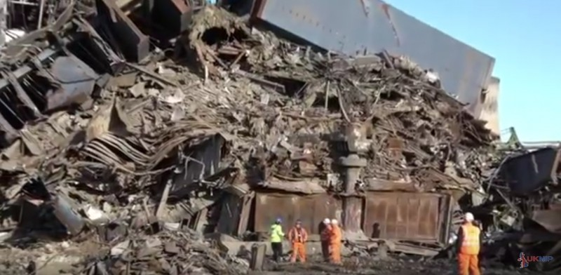 police have released video show the scale of the search of didcot power station