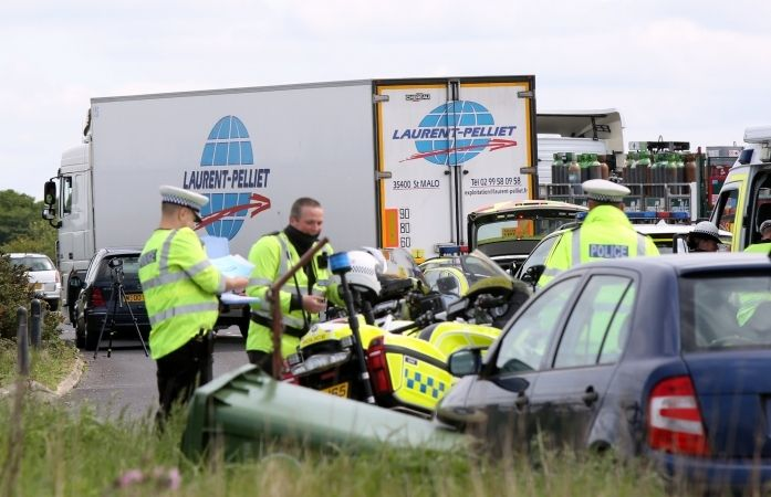 A31 Closed after Lorry in Collision with Pedestrian, UKNIP