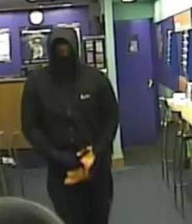 armed robbery at coral bookmakers in hook