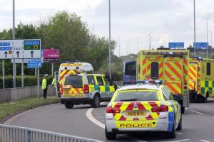 cyclist taken to hospital after collision with portsmouth bus