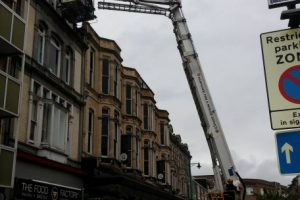 fire crews called after wind blows out southsea house windows
