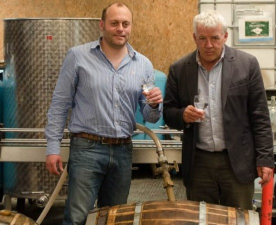 isle of wight distillery launches hms victory navy strength gin