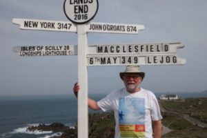 macclesfield man walks for southampton based charity