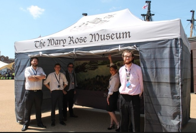 mary rose pop up museum to visit southsea castle