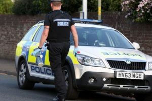 police seal off road after stabbing in gosport