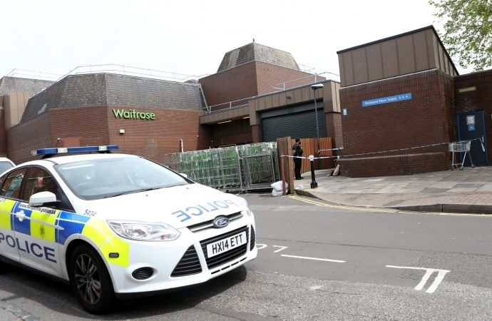 police seal off southsea toilet block after pensioner robbed