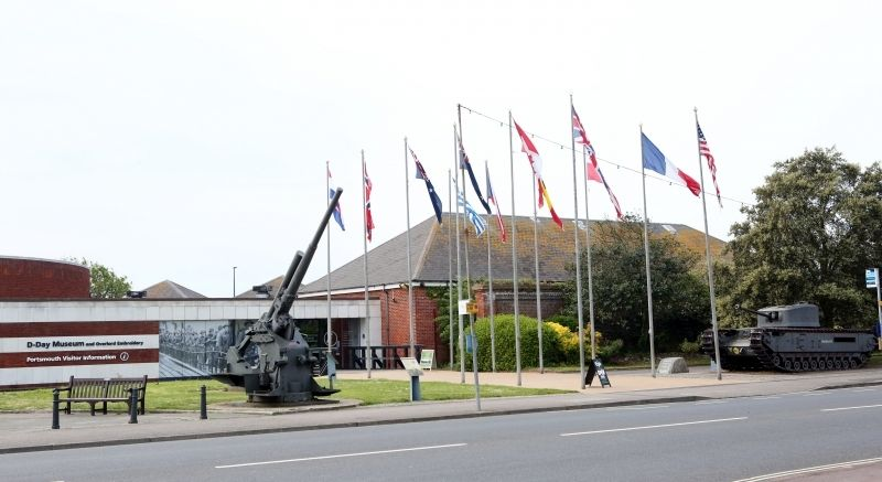 Travellers Invade World War Ii D-day Museum In Portsmouth