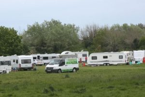 travellers make upgrade move to alver country park in gosport
