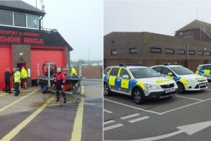 woman pulled from stokes bay after multiple emergency call to coastguard