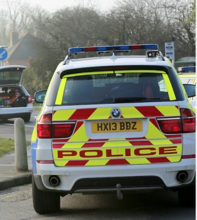 cyclist found unconcious with arm and leg injuries in fareham