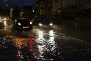 flash flooding hits gosport