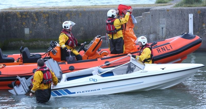 group rescued from speedboat for a third time are a catastrophe waiting to happen