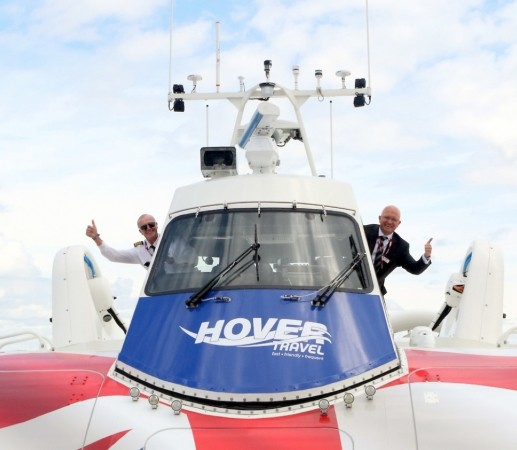 history in the making as solent flyer takes to the water