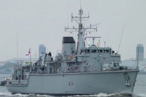 hms middleton crew back from minehunting in the middle east