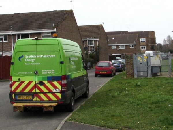 Homes  In Gosport  Hit By Power  Cut