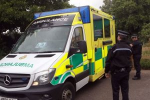 man dies following incident on hayling island