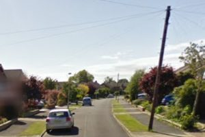 police launch man hunt in fareham after he exposes himself