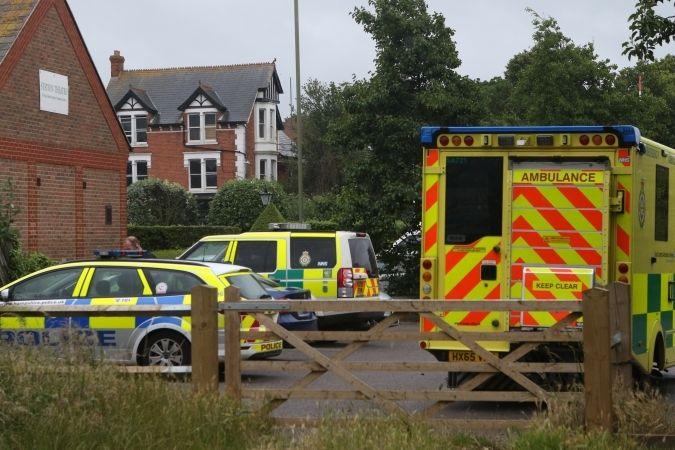 police seal off billy trail track in hayling island after incident