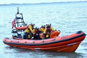 search operation launched in portsmouth after reports of a person in the water