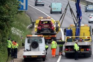 six miles of congestion after serious road collision on the m3